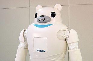 クマ型ロボット「RIBA」